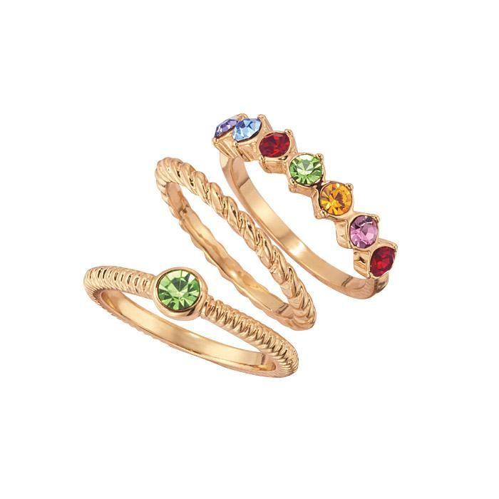 Avon Multi Colored Jewelry Set