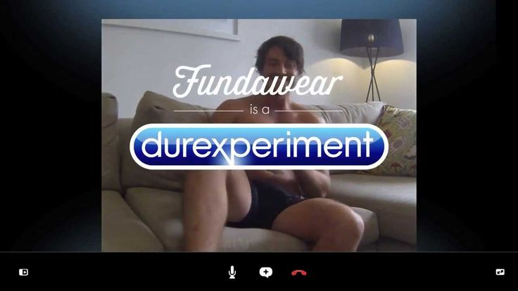 Durex Funderwear - A Durexperiment, via YouTube.