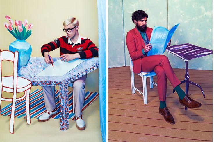 FD Persoonlijk fashion 'Hockney' Photography: Oof Verschuren