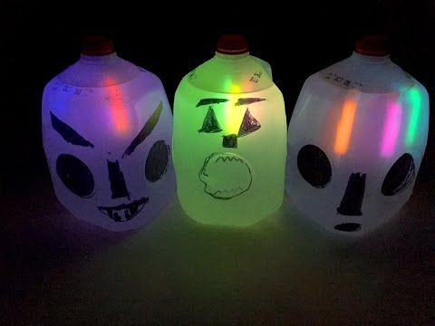 halloween milk jug ghosts youtube - Milk Carton Halloween Ghosts