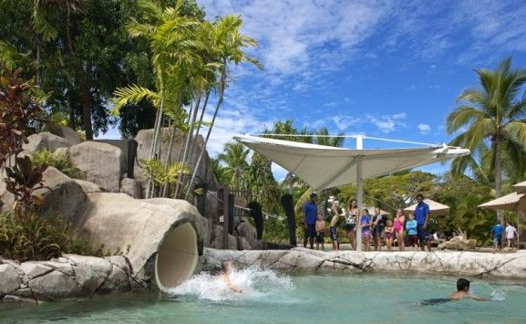 Radisson Blu Fiji Denarau - Amazing water slide Fiji #cbcollection