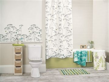 Cow Parsley Roller Blind