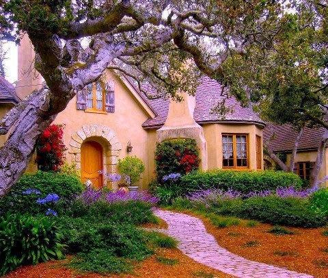 Storybook Lane!: Casas que parecem de contos de fadas