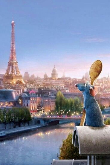 Ratatouille paris remy eiffel tower seine history