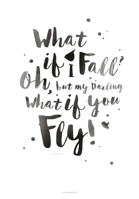 Jeg elsker motiverende ord og citater med et budskab. Et af mine top favorit…