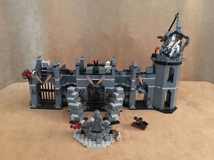 79014 LEGO NO MINIFIG Dol Guldur Battle lord of the rings hobbit castle building #Lego