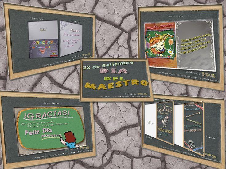 Se acerca el Dia del Maestro, por eso lanzamos un mini catalogo de tarjetas de agradecimiento y demostraciones de cariño que nuestros hijos pueden regalarle a esos maestros que pasan gran parte del di junto a nuestros hijos.  Precios super accesibles de cada uno de los diseños de tarjetas.
