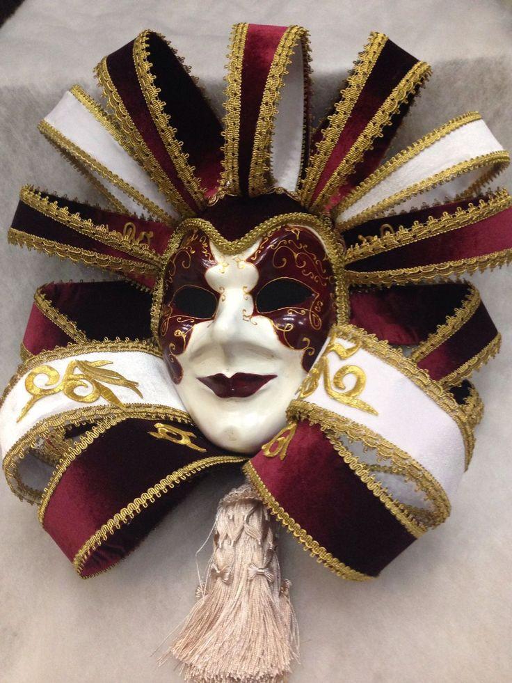 """Купить Интерьерная венецианская маска """" Шато"""" - венецианская маска, интерьерное украшение, интерьерная композиция"""