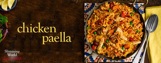 Chicken paella - Recipes - Slimming World