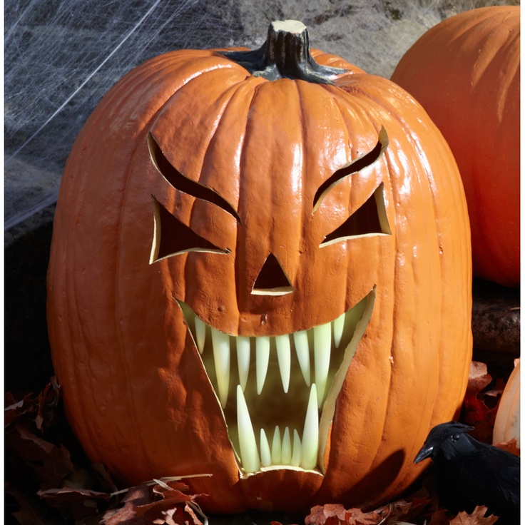 Scary Pumpkin Carving Patterns: 1000+ Images About Glow In The Dark Paint On Pinterest