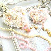 Для дома и интерьера ручной работы. Ярмарка Мастеров - ручная работа Текстильная подвеска в стиле шебби шик. Handmade.