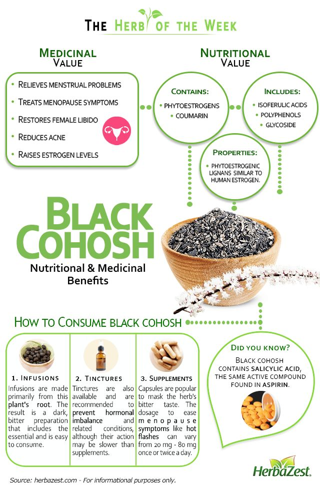 HerbaZest - Black Cohosh is very useful in the treatment of hormonal imbalance…