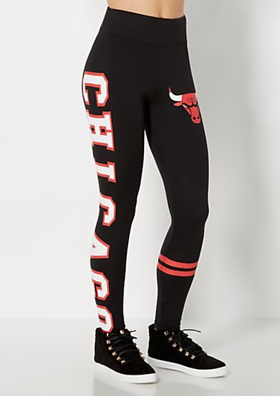 image of Chicago Bulls Striped Legging