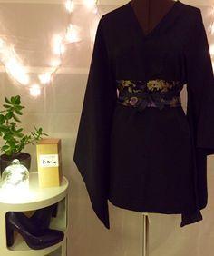 DIY – Robe kimono et ceinture obi |