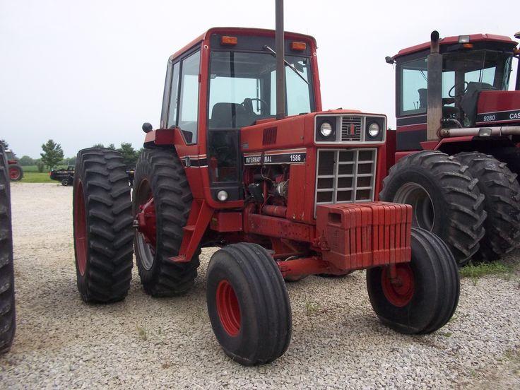 International Harvester 1586 Tractor : International in rossville ih farmall pinterest