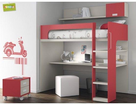 6 tienda de muebles juveniles con venta de literas altas - Muebles shena literas ...