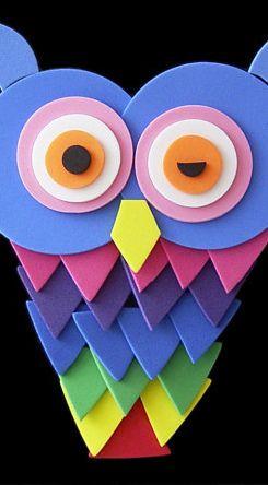 Felt Owl Craft For Kids