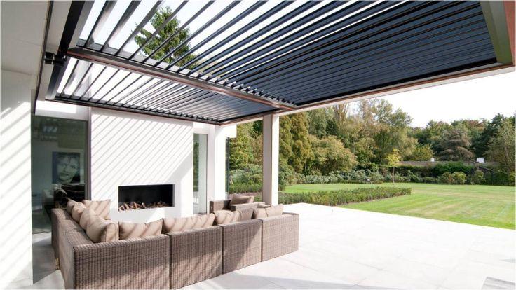 Meer dan 1000 idee n over terrasoverkapping op pinterest overdekte terrassen patio en decks - Overdekte patio pergola ...