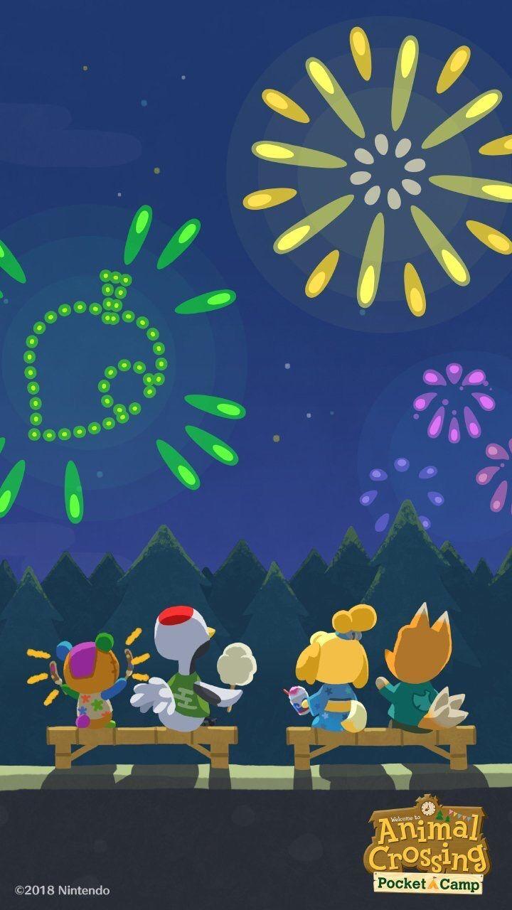 Animal Crossing Pocket Camp Summer Iphone Wallpaper Acpc New Ideas Animal Crossing Pocket Camp Animal Crossing Characters Animal Crossing