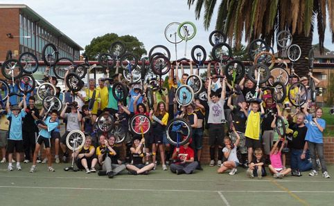 #innerwest unicycle hockey! Not your first thought when getting fit...