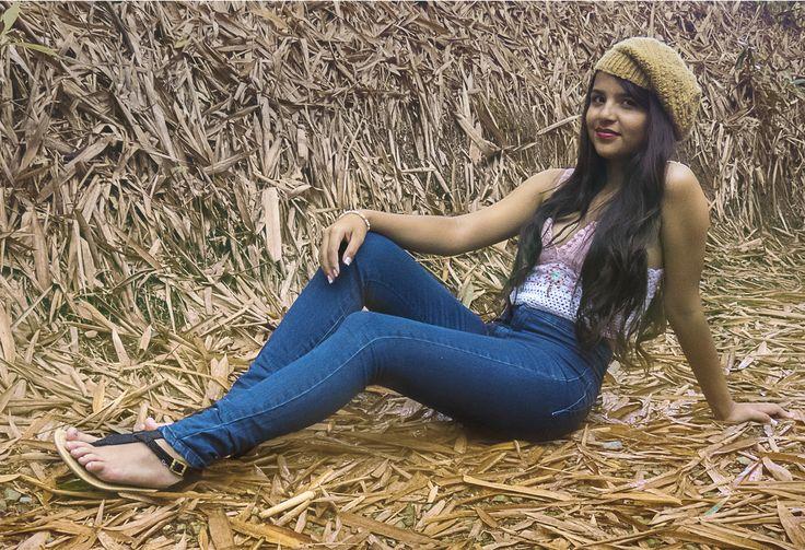 - Q U I N C E  A N G I E -Nunca es tarde para ser una modelo.