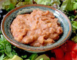 Refried Beans #vegan | recipe ideas | Pinterest