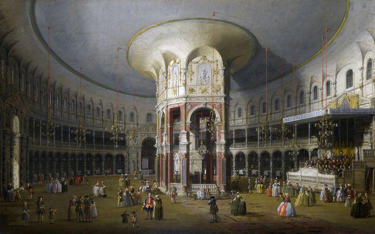 Giovanni Paolo Panini - The Lottery in Piazza di Montecitorio