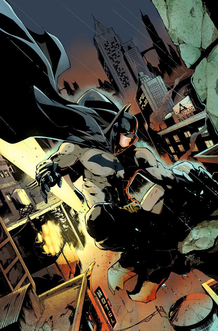 Batman// artwork byJorge JimenezandSandra MJ(2013)