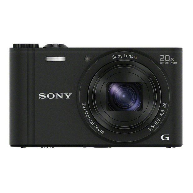 Buy Sony Cybershot WX350 18MP 20x Zoom Compact Digital Camera at Argos.co.uk - Your Online Shop for Compact digital cameras, Cameras, Cameras and camcorders, Technology.