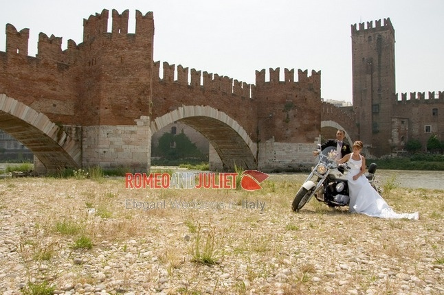 from UK to Verona....