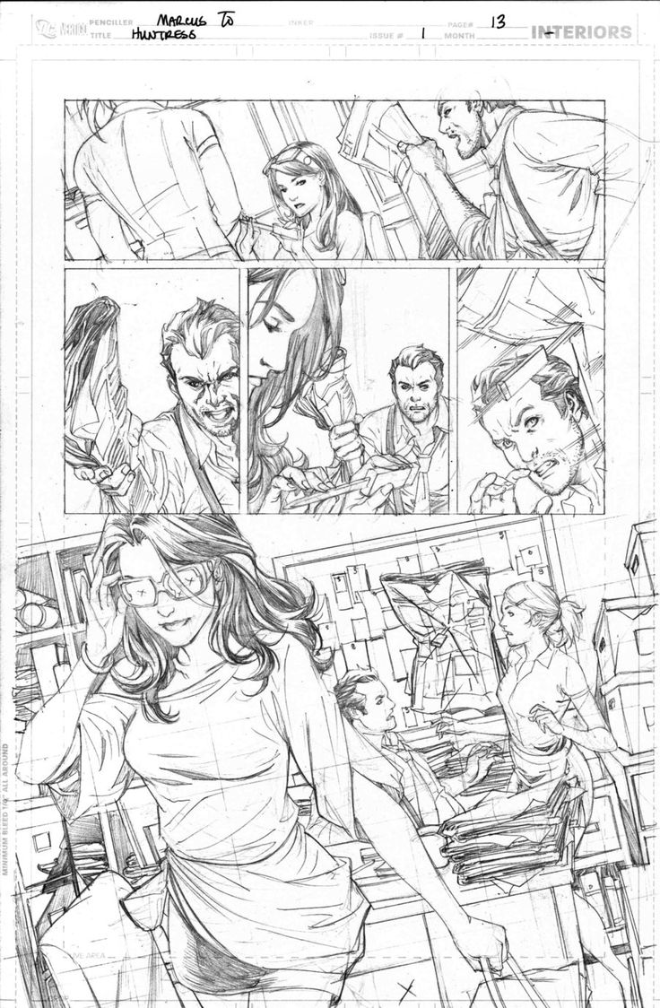 Huntress 1 pg13 by *0boywonder0 on deviantART