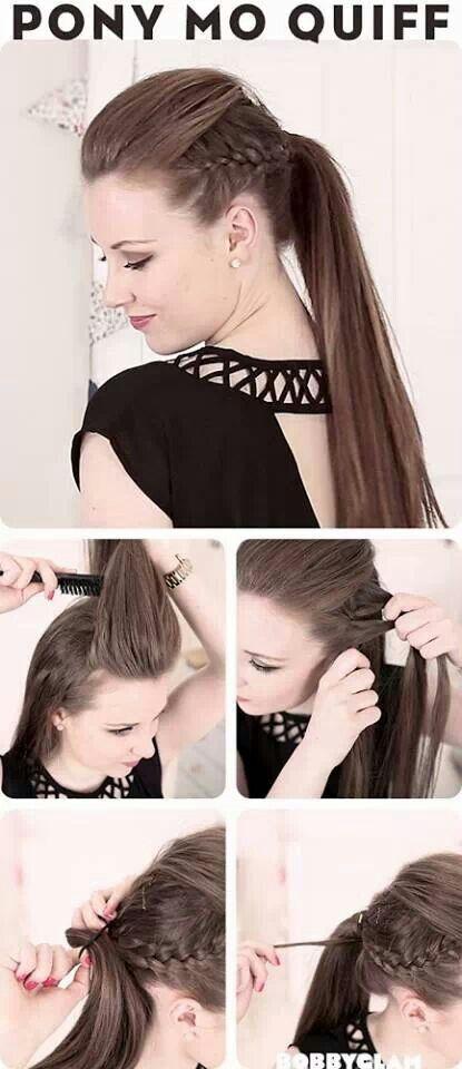 Peinados con cola de caballo                                                                                                                                                                                 Más