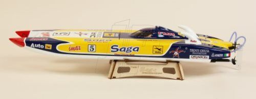 Dragon Saga Mini Cat 820EP (R/C Ready) RC Radio Control Model Boat ...