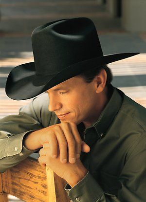 The King of Country Music - George Strait...........this is one of my favorite pictures of him.