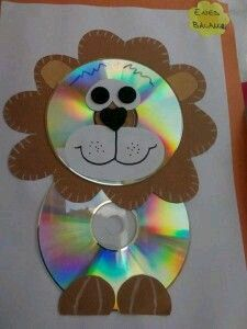 (7) Manualidades para niños hechas con viejos CDs.... - Ideas creativas y manualidades                                                                                                                                                     Más