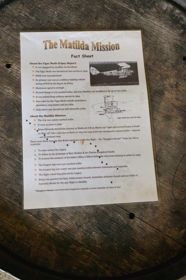The Matilda Mission Fact Sheet - Edwards Wines Margaret River
