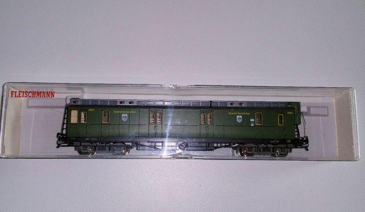Fleischmann 5803, Kaiserlich Deutsche Post-Wagen Ep.1, H0, OVP in Modellbau, Modelleisenbahn, Spur H0 | eBay!