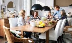 Yeni Sezon İkea Yemek Masası ve Sandalye Modelleri