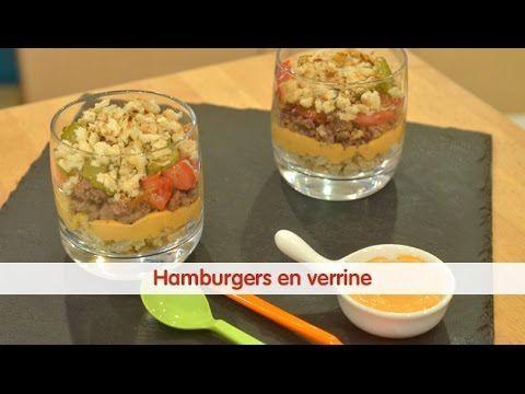 Recette de Hamburgers en verrine - 750 Grammes