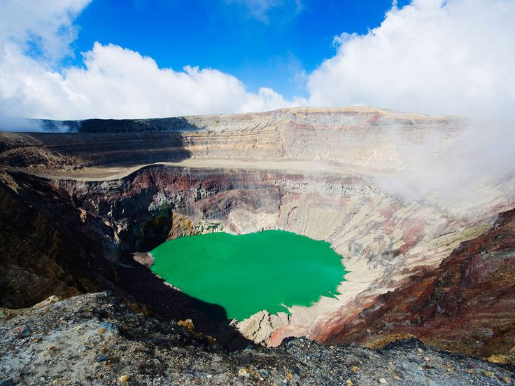 Santa Ana Volcano, Cerro Verde National Park, El Salvador El Salvador's highest volcano, also known as Ilamatepec, is crowned by a tiered crater with a small lake at its center. The four-hour trek from Cerro Verde National Park up the volcano offers breathtaking views once you reach the top. The volcano also served as inspiration for one of the most famous children's books in history, The Little Prince.