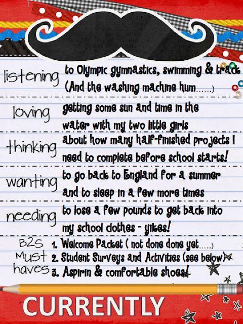 Student Survey, Parent Contact Sheet Freebie