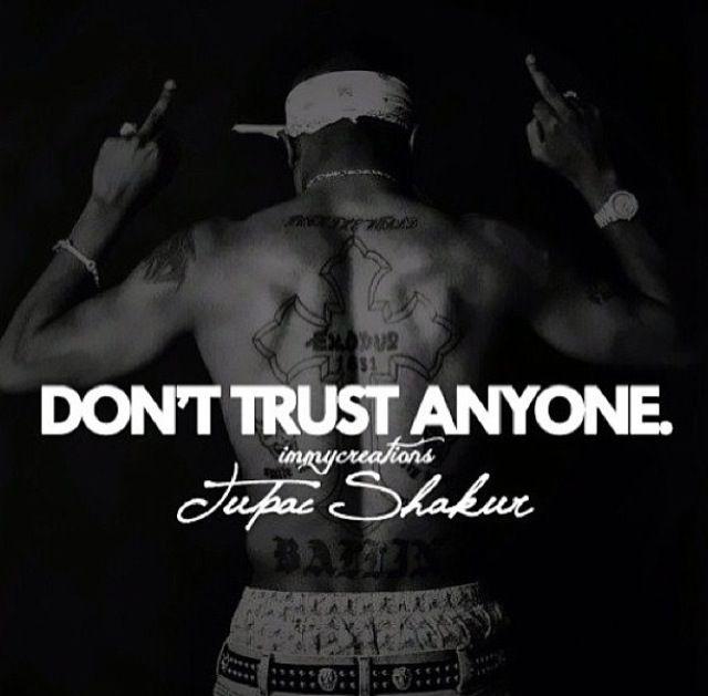Don t trust his