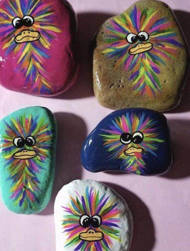 Sie Rock Canvas Art Canvas Painting Diy Canvas Canvas Painting In 2020 Painted Rocks Rock Painting Designs Rock Painting Art
