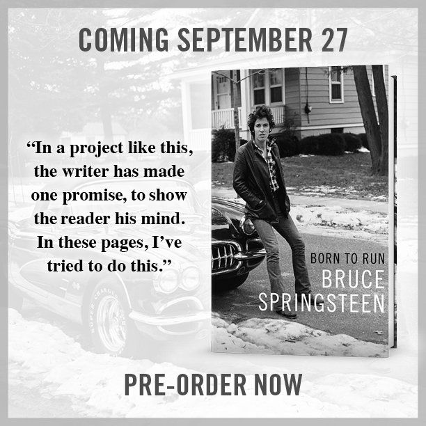 "Simon & Schuster on Twitter: ""New @springsteen tour dates for #TheRiverTour lead into the release of memoir, ""Born to Run"""