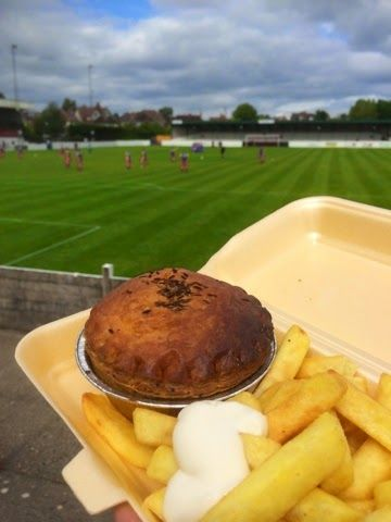 Foodstuff Finds: Chicken Balti Pie - Bromsgrove Sporting Football Club [review by @NLi10]