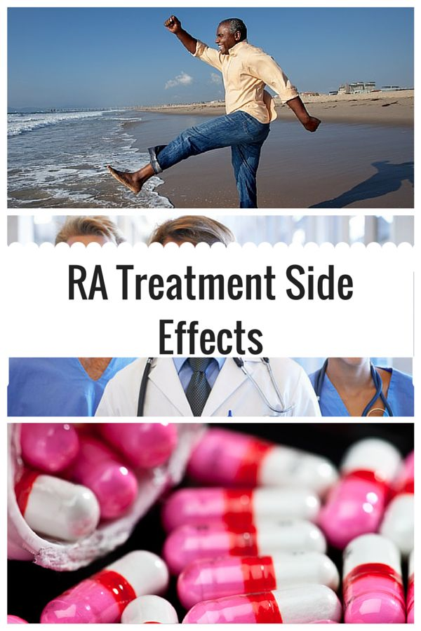 There are several well known effective treatments for RA, know how to identify any negative symptoms that may occur. Read more about the side effects of various RA treatments.