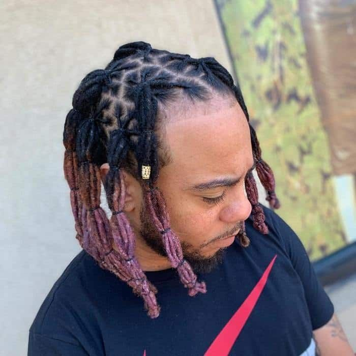 40 Dreadlock Hairstyles For Men To Have A Nomad Look Mermaid Hair Color Dreadlock Hairstyles For Men Hair Styles