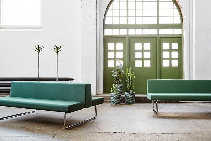 Avant sofa, design: Fredrik Mattsson   Cactus coat stand, design: Jesper Ståhl   Styling: Katrin Bååth   Photo: Sara Landstedt