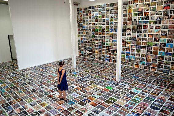 My Feet: a mass selfie from Erik Kessels - Creative Review