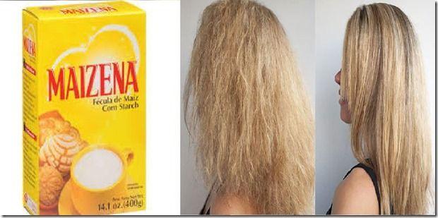 Mascarilla casera con maizena para quitar el cabello esponjoso y maltratado - TuSalud.Info